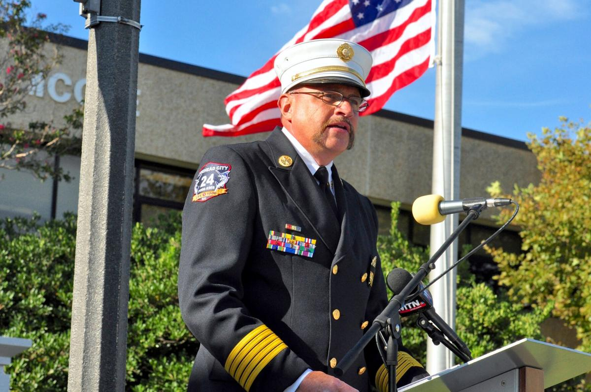 First responders, community gather for 9/11 remembrance ceremony at CCC