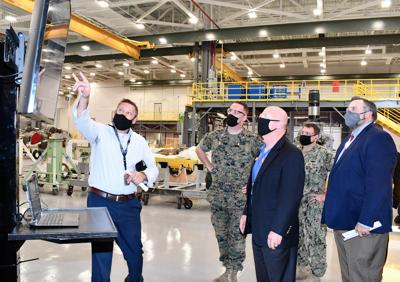 FRC East hosts Navy official to talk future modernization efforts