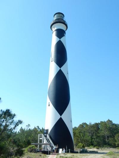 Cape Lookout Lighthouse break-in
