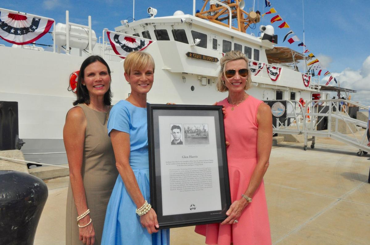 GALLERY: US Coast Guard honors Stacy-born Glen Harris with cutter bearing his name