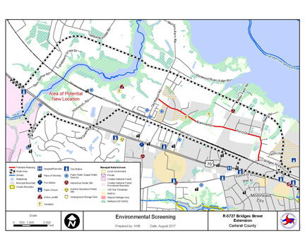 Opposition grows to NCDOT project to extend roadway through ... on tdot state map, n.c. division map, caltrans state map, nc state map, england map latitude and longitude map, indot state map, txdot state map,