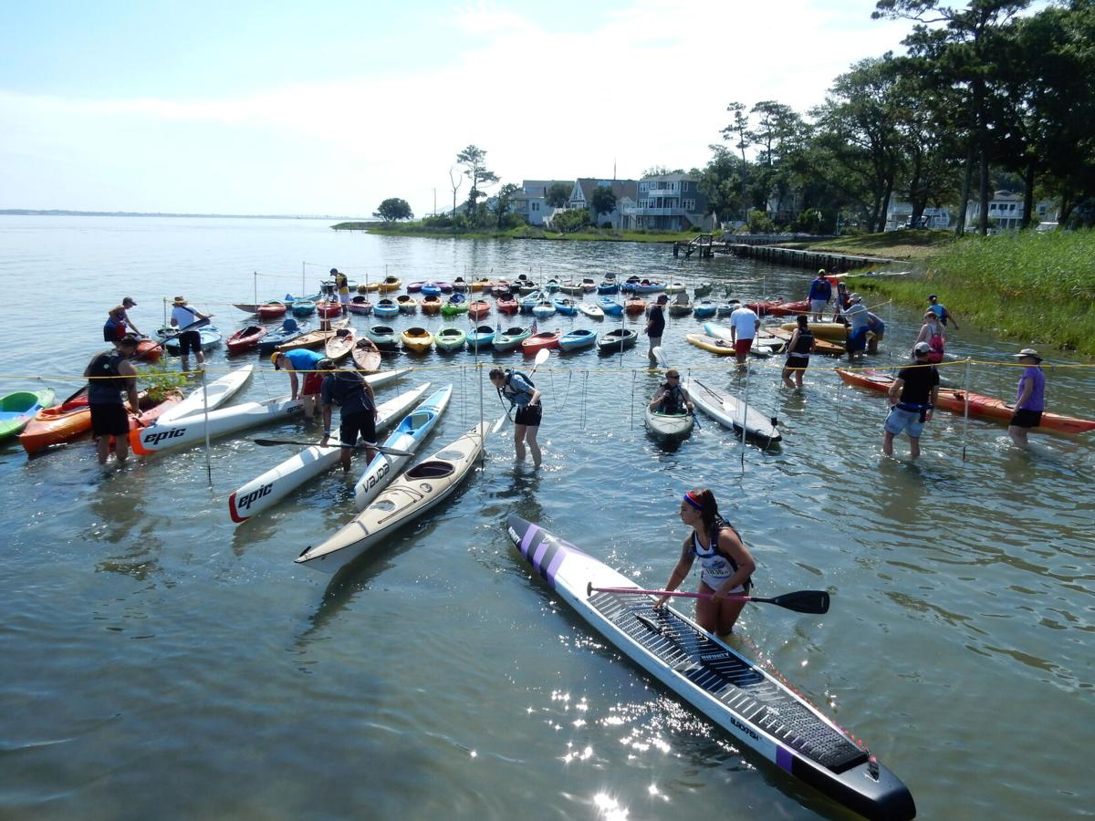 Kayak for The Warriors race returns with about 130 participants