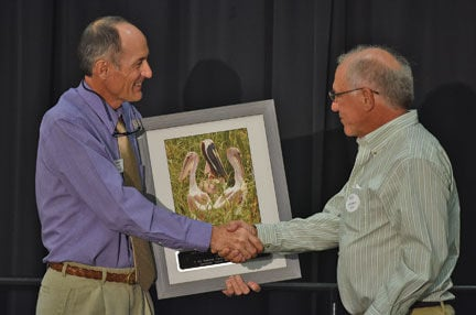 John Fussell receives Pelican Award