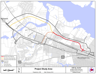 NCDOT to host public meeting on Bridges Street extension ... on tdot state map, n.c. division map, caltrans state map, nc state map, england map latitude and longitude map, indot state map, txdot state map,