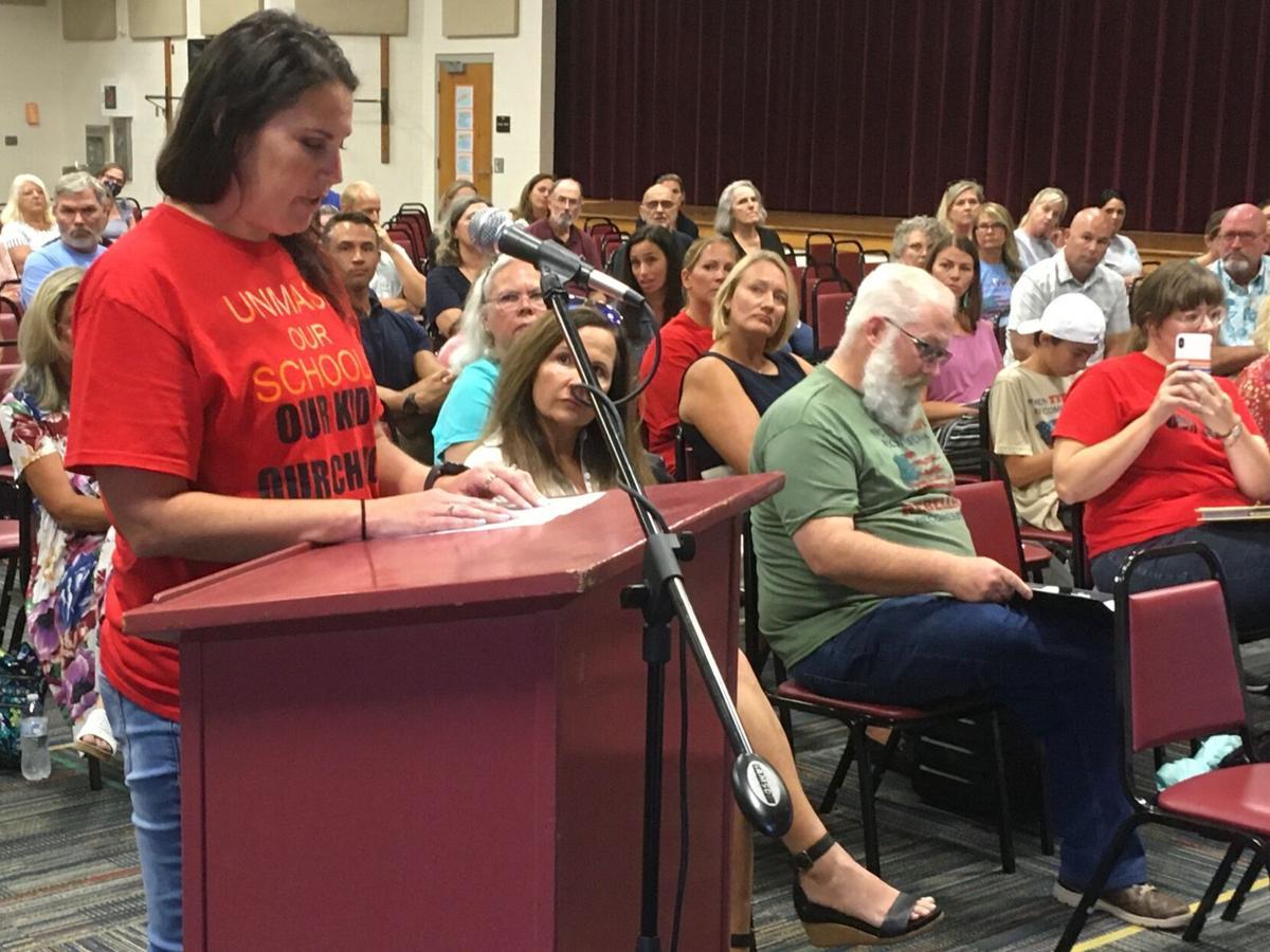 Carteret County school board votes 5-2 to keep mask mandate until October