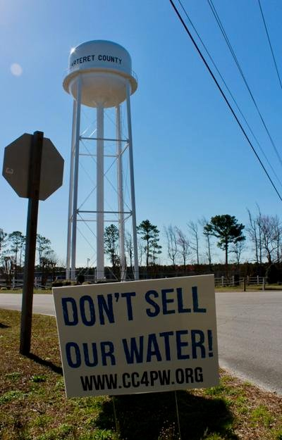 Group opposes sale of Carteret County water system, urges elected officials to rethink decision
