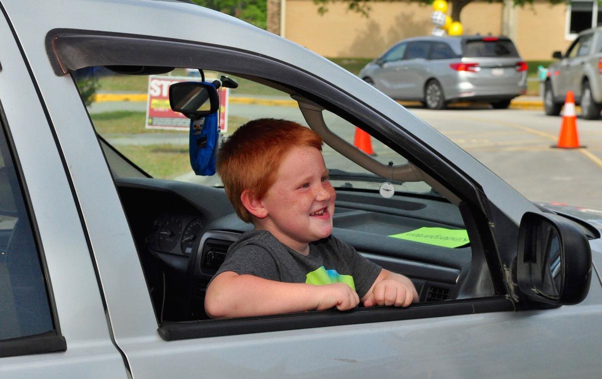Carteret County Schools get students pumped up for NC Pre-K, kindergarten