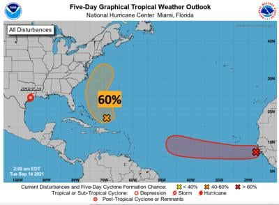 Forecasters advise tropical depression could form by midweek, possibly bring rain to Carteret County