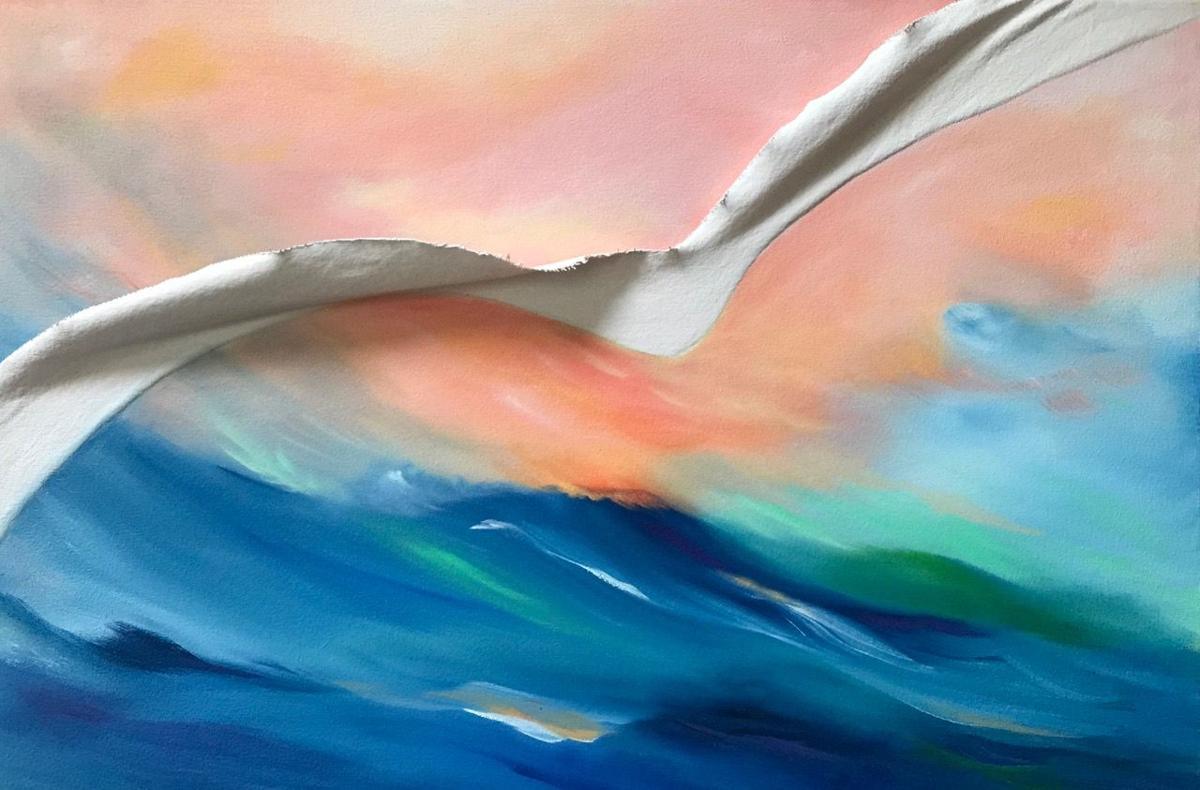 """""""Soaring"""" by Bonnie Hunter"""