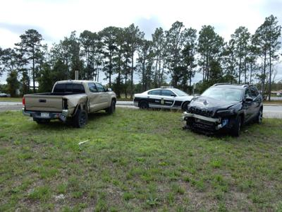Driver transported to hospital after 2-vehicle collision Tuesday on Highway 70