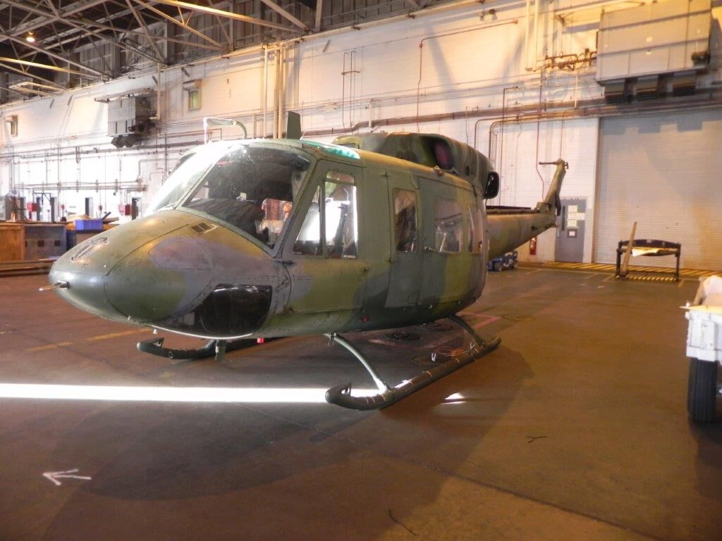FRC East returns Air Force helicopter to service after more than a decade in storage