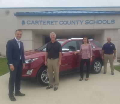 Kurtis Chevrolet to donate car to Teacher of the Year