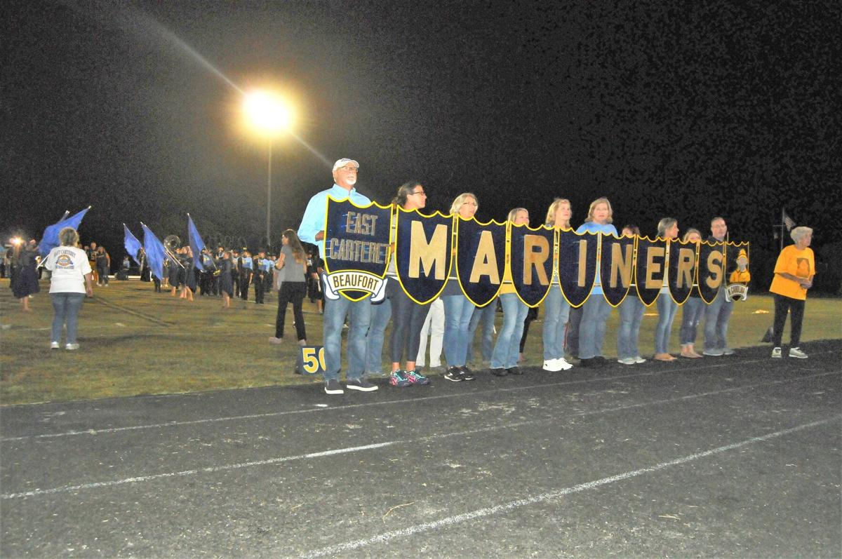 GALLERY: East Carteret band alumni pay tribute to late director