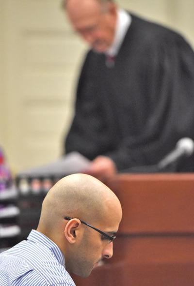 Davis appears in court