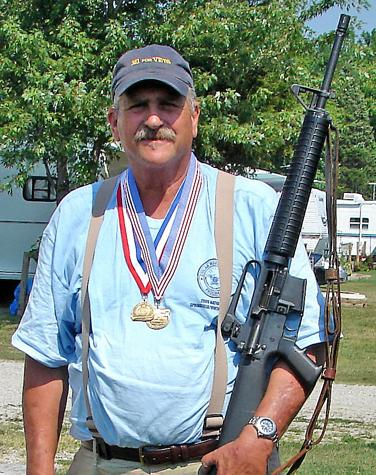 Jones wins bronze medals at NRA national competition