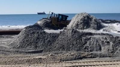 Carteret County says beach nourishment bids within budget
