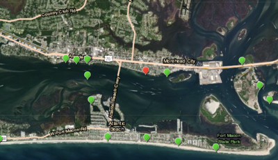 Swimming advisory issued in Carteret County as previous advisory is lifted