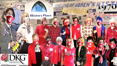 DKG meets at history museum for women's suffrage special exhibition