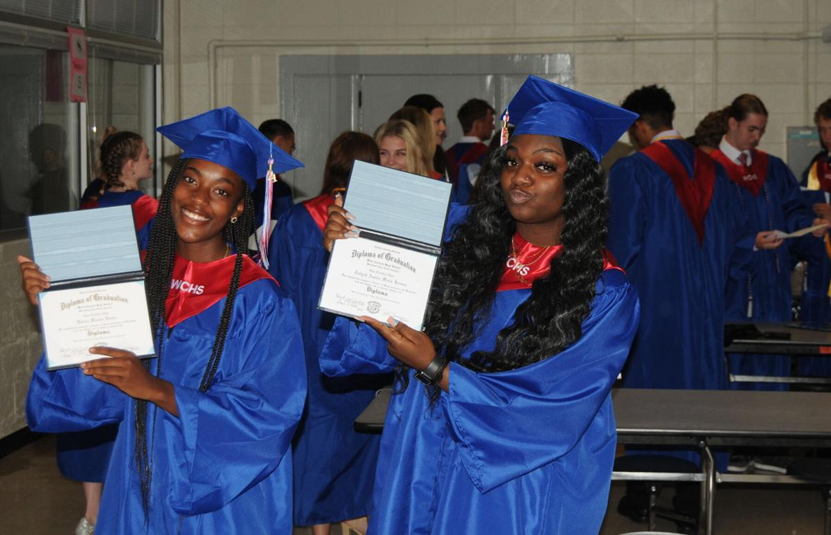 GALLERY: Community honors West Carteret High School's resilient class of 240 on graduation night
