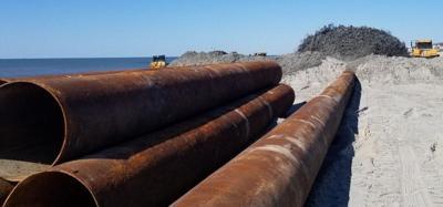 Carteret County seeks bids for latest beach nourishment project