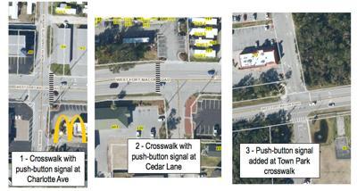Like other area towns, Atlantic Beach pursues more sidewalk, crosswalk infrastructure