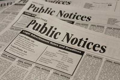 Measure to move public notices to government websites passes first committee vote with Carteret included