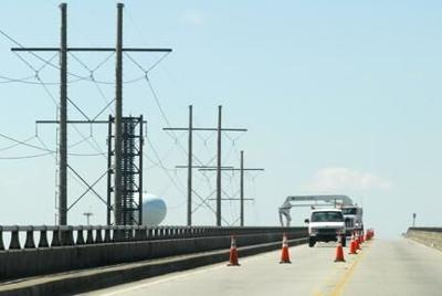 Lane closures planned for Morehead City high-rise bridge inspection