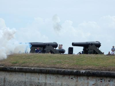 State Park Service staff resumes regular events at Fort Macon