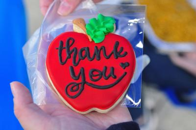 Community celebrates educators for Teacher Appreciation Week