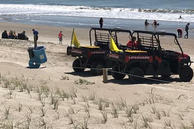 Emerald Isle access lots reopen, cool weather holds back crowds