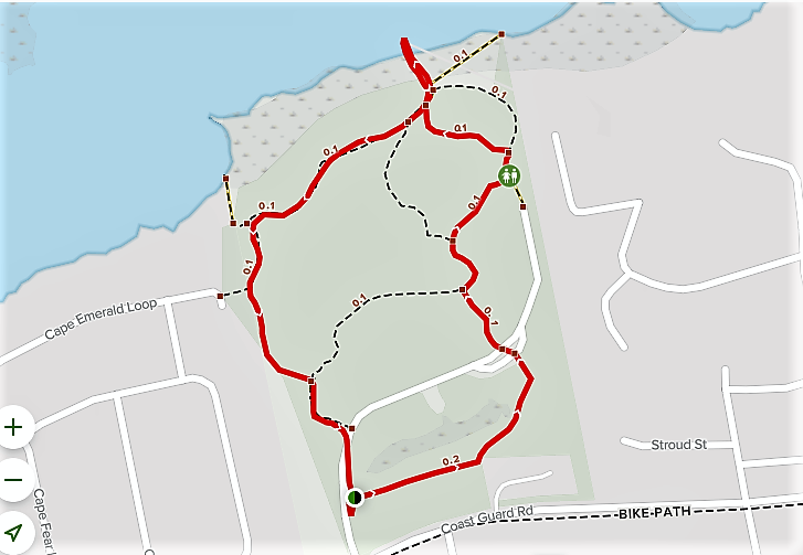 EMERALD ISLE WOODS PARK TRAIL