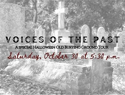 Beaufort's Old Burying Ground to bring back Voices of the Past Tour