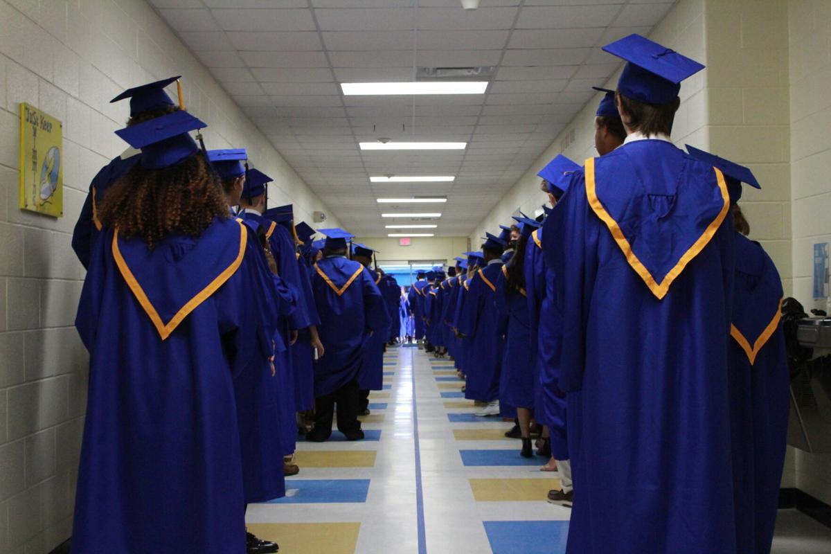 GALLERY: Persevering East Carteret High School 2021 graduates receive hard-earned diplomas