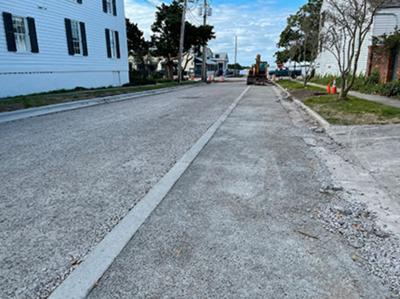 Beaufort, federation improve stormwater drainage on Orange Street