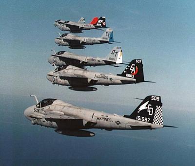 A-6 Intruders