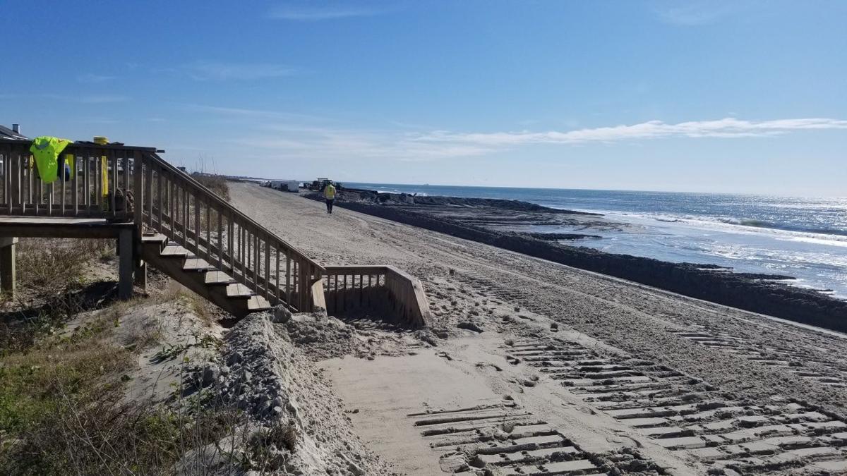 Beach progress