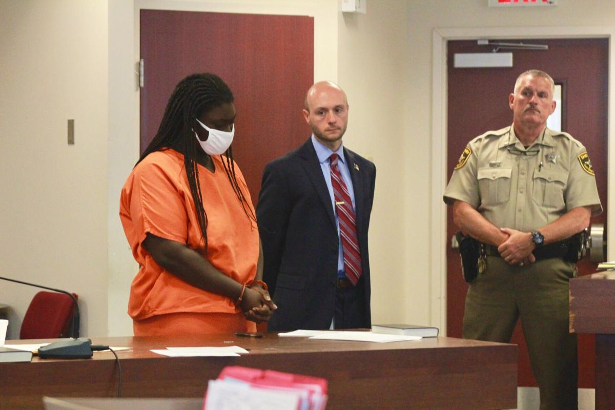 Parents make first felony court appearances Monday following death of infant daughter