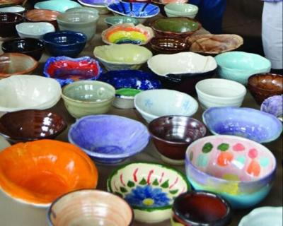 Empty Bowls event to aid area food pantries, soup kitchen