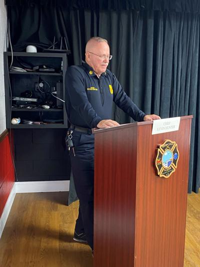 Western Carteret fire chief pleads for assistance through federal COVID-19 relief money