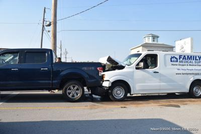 No injuries reported after collision in Atlantic Beach Wednesday