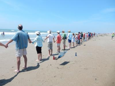 Virtual Hands Across the Sand event set for Saturday