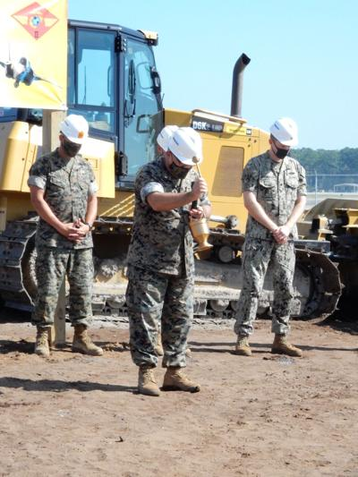Marine Corps breaks ground on new F-35 hangar at MCAS Cherry Point