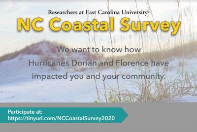 ECU, UNCW researchers seek input on Hurricane Dorian experience