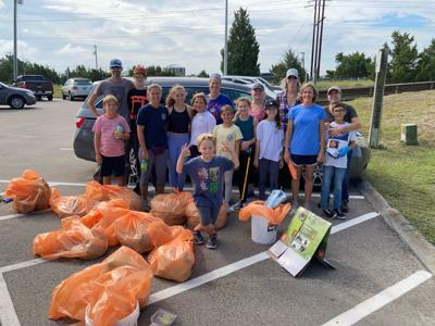 Volunteers gather more than 3,300 pounds of litter from across the Crystal Coast during cleanup event