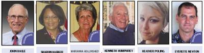 Candidates' photos