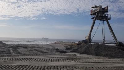 Emerald Isle, Atlantic Beach nourishment projects progress simultaneously