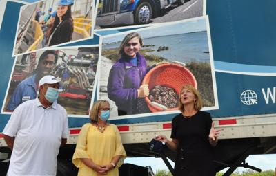 Carteret Community College receives tractor-trailer; fall CDL classes begin