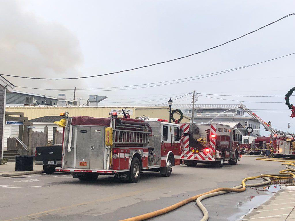 The Spouter Inn fire