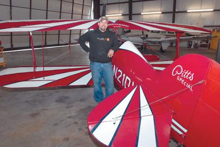 Restoring a vintage plane