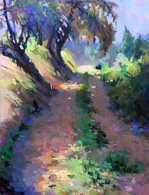 Studio welcomes impressionist painter
